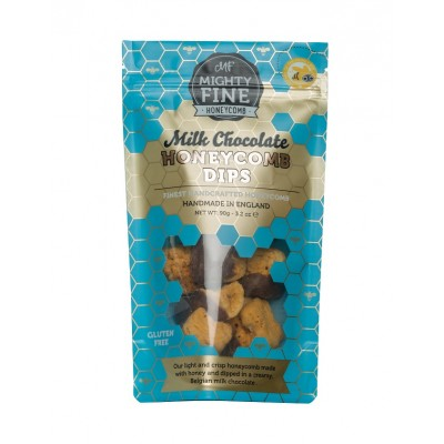 Mighty Fine Kitchens Milk Chocolate Honeycomb Dips Pouch