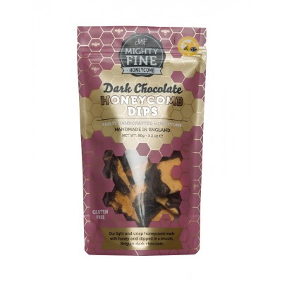 Mighty Fine Kitchen Dark Chocolate Honeycomb Dips Pouch