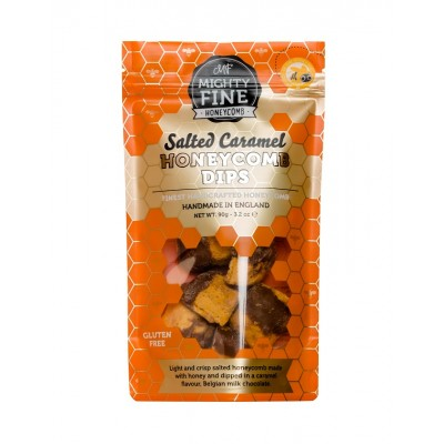 Mighty Fine Kitchens Salted Caramel Honeycomb Dips Pouch