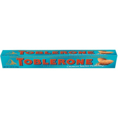Toblerone Crunchy Salted Almond Chocolate Bar