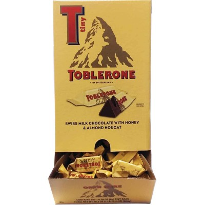 Toblerone Tiny Bar Display