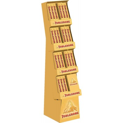 Toblerone Milk Chocolate Display