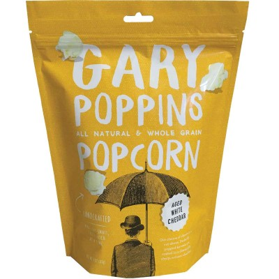 Gary Poppins Aged White Cheddar Popcorn