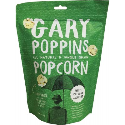 Gary Poppins White Cheddar and Jalapeno Popcorn