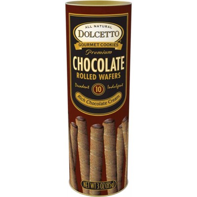 Dolcetto Chocolate Cookie Rolls