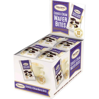 Dolcetto Cookies & Cream Bites 100 Calorie Snack Bag