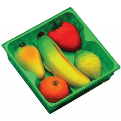 Bergen Marzipan Mixed Fruit Basket