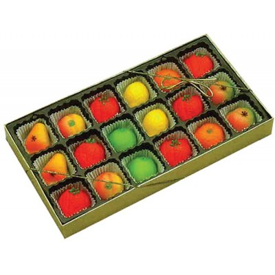 Bergen Marzipan Mixed Fruit Box