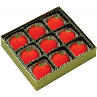 Bergen Marzipan Strawberry 9 Piece