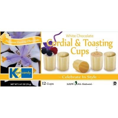 Kane Candy White Chocolate Cordial and Tasting Cups