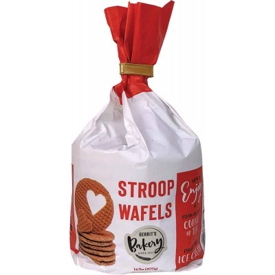 Gerrits Stroopwafels Twist Top Bag