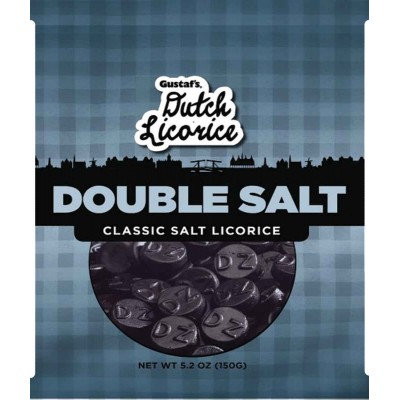 Gustafs Dutch Double Salt Licorice Bag