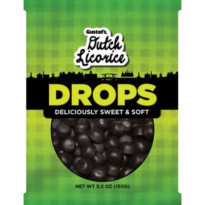 Gustafs Dutch Licorice Drops Bag
