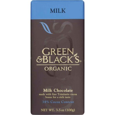 Green & Black Milk Chocolate Organic Bar