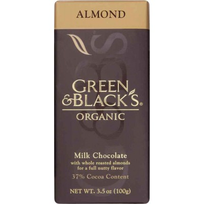 Green & Black Milk with Almond Milk Chocolate Organic Bar
