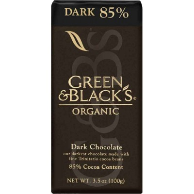 Green & Black Dark 85% Dark Chocolate Organic Bar