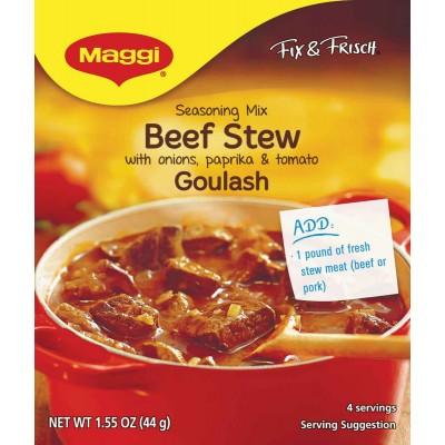 Maggi Goulash (Beef Stew)