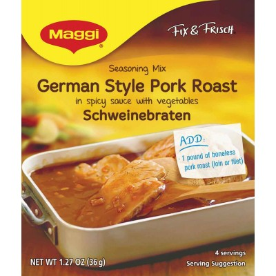 Maggi Schweinenbraten (Pork Roast)