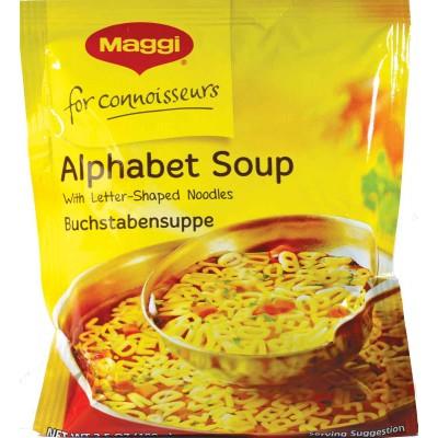 Maggi Alphabet Soup