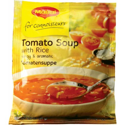 Maggi Tomato Soup with Rice Mix