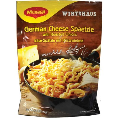 Maggi Spaetzle with Cheese Sauce