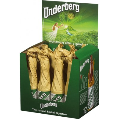 Underberg 12 Bottle Counter Display