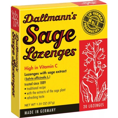 Dallmann's Lozenges with Sage Extract