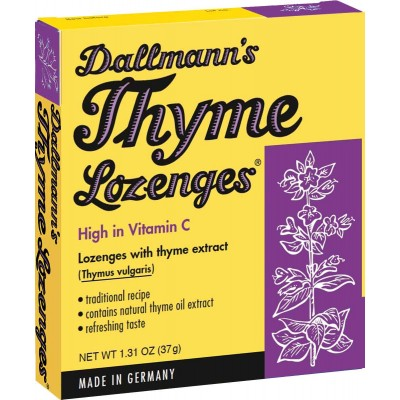 Dallmann's Lozenges with Thyme Extract