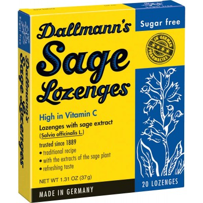 Dallmann's Sugar Free Lozenges with Sage Extract
