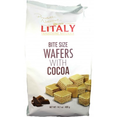 Litaly Cocoa Wafer Bag