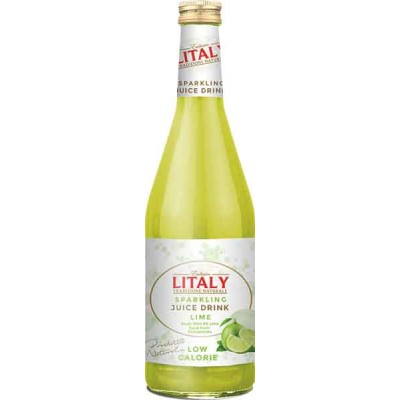 Litaly Lime Sparkling Juice
