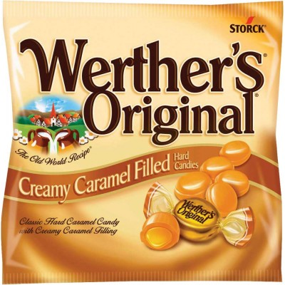 Werthers Original Creamy Caramels Peg Bag