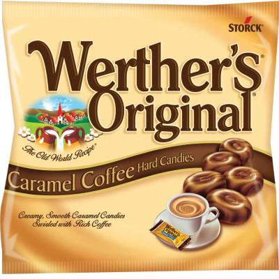 Werthers Original Caramel Coffee Hard Candies Peg Bag