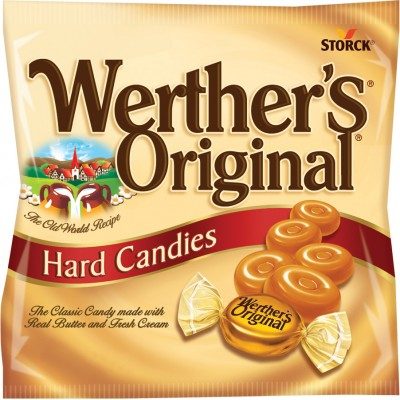 Werthers Original Hard Candies Peg Bag