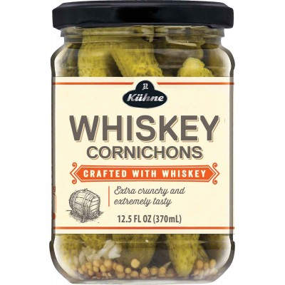 Kuhne Cornichons Whiskey Infused