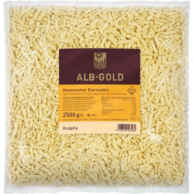 Alb-Gold Knopfle Spaetzle