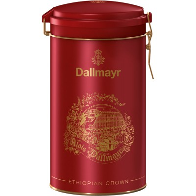 Dallmayr Ethiopian Crown Ground Coffee Red Gift Tin