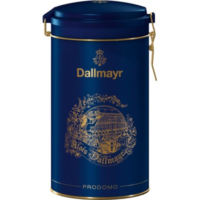 Dallmayr Prodomo Premium Ground Coffee Blue Gift Tin