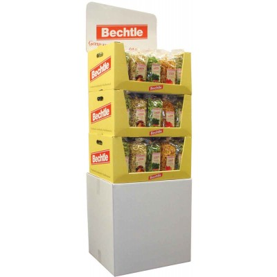 Bechtle Assorted Flavored Pasta Display