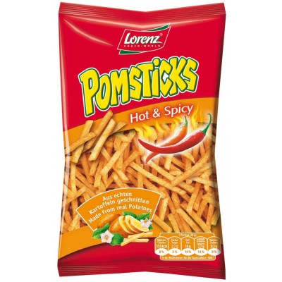 Lorenz Hot and Spicy Pomsticks