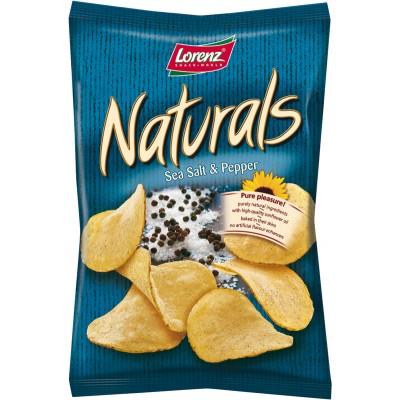 Lorenz Sea Salt and Pepper Natural Chips