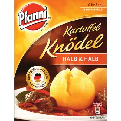 Pfanni Knodel Herb and Halb Mix in Bag