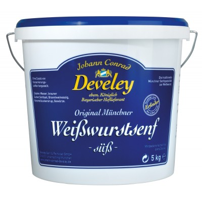Develey Munich Sweet Mustard Pail