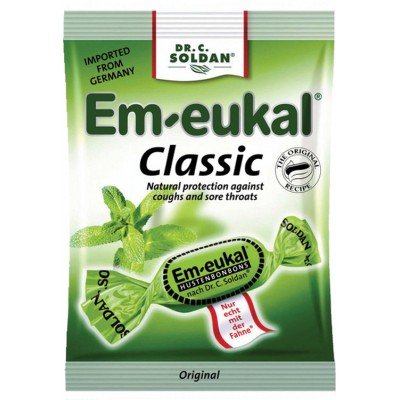 Dr Soldan Em-eukal Cough Drops Bag