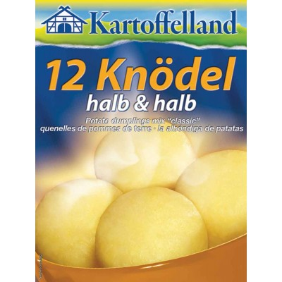 Kartoffelland 12 Half and Half (Half Potato) Dumplings Mix