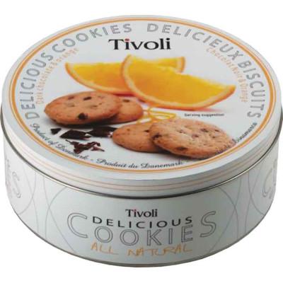 Tivoli Dark Chocolate Orange Cookie Tin