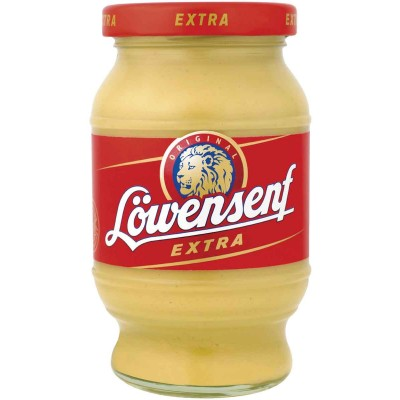 Lowensenf Extra Hot Mustard Jar