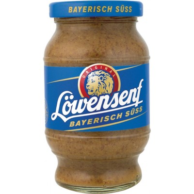 Lowensenf Bavarian Sweet Mustard Jar