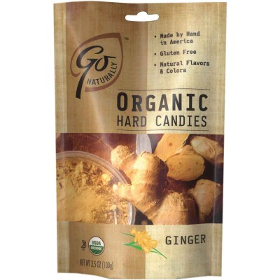 Go Organic Ginger Natural Candy Bag