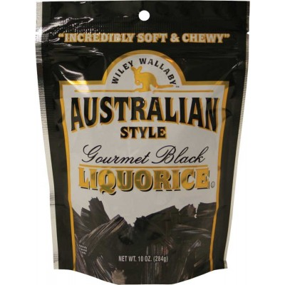 Wiley Wallaby Black Licorice Bag